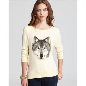 Wildfox wolf beach jumper